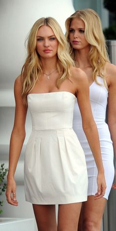 Perfect little white dress!