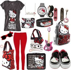 Hello Kitty :), created by bethany-whisper on Polyvore