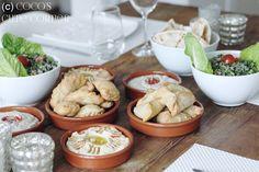 Libanesische spinatkrapfen