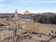 The Dome of the Rock in Jerusalem Israel Trip, Israel Travel, Dome Of The Rock, Jerusalem