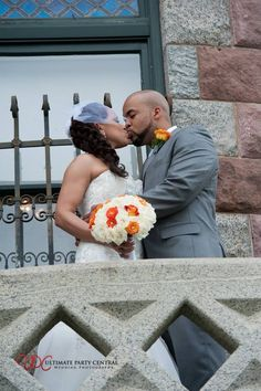 Wedding photography & DJs at Lambert's castle provided by Ultimate Party Central - formal wedding poses