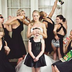 From the genuine and sentimental to the crazy and fun, you'll want these shots on your bridesmaid photo shot list.