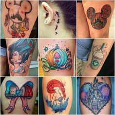 Get some inspiration for your next ink with these 100 Disney tattoos 🙂. Flame Tattoos, Body Art Tattoos, New Tattoos, Cool Tattoos, Henna Tattoos, Tatoos, Disney Tattoos Unique, Unique Tattoos, Disney Watercolor Tattoo