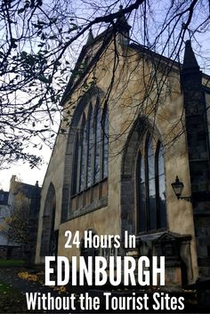 24 Hours in Edinburgh, Scotland - Without any of the tourist sites. A guide to simply 'living' in a foreign city for the day rather than trying to fit in all the touristy bits when you don't have enough time.: