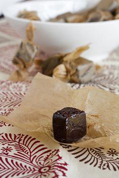 Chocolate Earl Grey Caramels