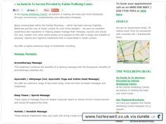 Clipped from www.fairleewell.co.uk Wellbeing Centre, Alternative Therapies, Pharmacy, Appointments, Health Care, Therapy, Healing, Mindfulness, Business