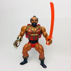 JITSU 1983 Complete He-Man Masters of the Universe MOTU Vintage #2 #Mattel
