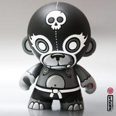 KidRobot - Luchador Munny by FAKIR