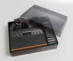 The Atari 2600 from the Powerhouse Museum collection