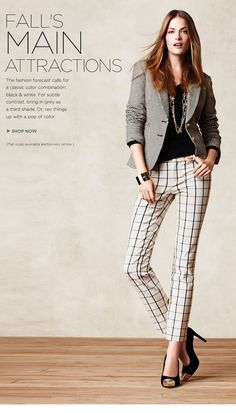 For the professional women Tall Girl Fashion, Work Fashion, Womens Fashion, Unique Fashion, Fashion Tips, Professional Wardrobe, Professional Women, 2016 Fashion Trends, Fashion Forecasting