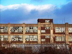 Endicott Johnson factory in Endicott or Johnson City, New York ... part of the Binghamton area ...