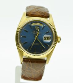 Rolex 18k gold Oyster Perpetual Date-Date. Joiencis - Encants Barcelona. www.joiencis.com