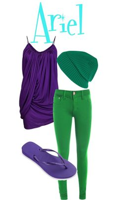 """Ariel's teen outfit"" by loonylunalovegood on Polyvore"