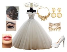 """Dream Big for a Special Day"" by amandadorta on Polyvore featuring Charlotte Russe, River Island, Larkspur & Hawk, LASplash, Oscar de la Renta, Monsoon, dress, special, dream and wedding"