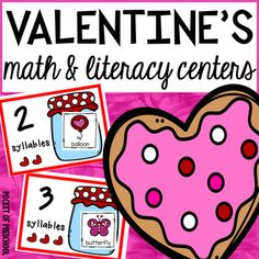 Valentines Day Skip Counting Math Printable  Skip counting