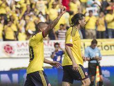 La Selección Colombia solo esta a dos puntos del repechaje - Colombia 5 - Bolivia 0