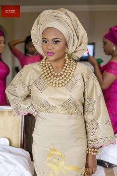 Bukky & Kayode Yoruba Traditional Engagement in Lagos, Nigeria ~African fashion, Ankara, kitenge, African women dresses, African prints, Braids, Nigerian wedding, Ghanaian fashion, African wedding ~DKK