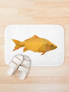 Bring out your wild side with our geometric goldfish art. Geometric Animal, Goldfish, Modern Art, Artwork, Animals, Work Of Art, Animales, Auguste Rodin Artwork, Animaux