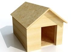 This small dog house is really easy to build and it will provide a ...
