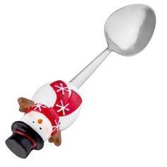 Snowman spoon from poundland! Magical Christmas, Christmas Is Coming, Christmas Goodies, Xmas, Served Up, Wonderful Time, Spoon, Snowman, Tableware