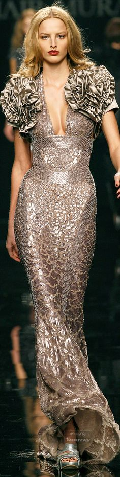 Zuhair Murad Spring 2015. Remove the caplets and I love it!