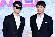 [PRESS PICS] 130627 Yoochun and Junsu at Opening Ceremony of 2013 JYJ Membership Week – Part 3