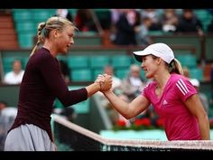 ▶ Henin vs Sharapova | 2010 Highlights - YouTube