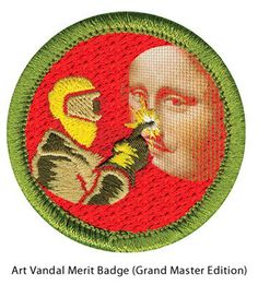 Art Vandal Merit Badge