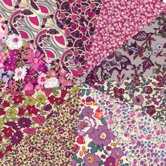 A lovely warming selection of purple hued prints from Liberty of London.    Prints include, classics such as Pepper, Phoebe, Thorpe, Christelle, Poppy and Daisy, Meadow and Betsy    You will receive: 10 x 5 squares (12.7cm) : 10 different design fabrics.    100% cotton Tana Lawn    Liberty tana lawn is a fabulous fabric for all kinds of quilting, sewing and craft projects, highly sought after it is often difficult to obtain. ~~~~~~~~~~~~~~~~~~~About Liberty Fabric…