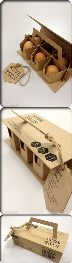 package & display from http://immonstop.blogspot.com/2012/01/packaging-design-egg-packaging.html