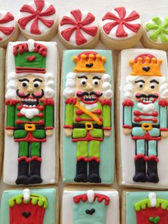 Nutcracker Cookies! Perfect for Stocking stuffers!