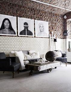 Inside the stunning atelier of illustrator Sara N. Bergman - NordicDesign