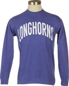 University Co-op Online | Comfort Colors Collection - Longhorns Long-Sleeve T-Shirt