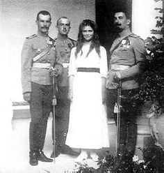 "Grand Duchess Maria Nikolaevna and Officers. or a break during the war, Maria, her sisters and mother sometimes visited the Tsar and Tsarevich Alexei at the war headquarters in Mogilev. During these visits, Maria developed an attraction to Nikolai Dmitrievich Demenkov, an officer of the day at the Tsar's Headquarters. When the women returned to Tsarskoye Selo, Maria often asked her father to give her regards to Demenkov and sometimes jokingly signed her letters to the Tsar ""Mrs. Demenkov."""