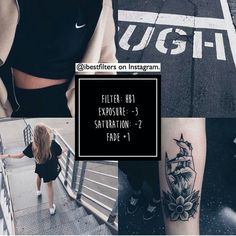 vsco tattoo dark black road clothes
