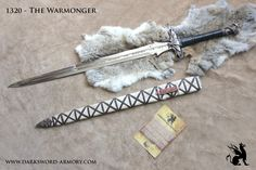 The Warmonger Barbarian sword crafted by Darksword Armory inc. https://darksword-armory.com/product/the-warmonger/