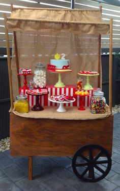 Vintage Fire Truck themed birthday party with such cute ideas via Kara' s Party Ideas KarasPartyIdeas.com #firetruckparty #firetruck #firemanparty