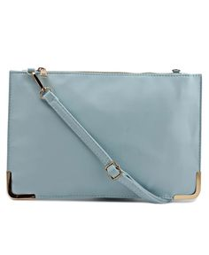 Clutch - Blue Evening Outfits, Clutch Wallet, Contemporary Design, Your Style, Chic, Blue, Fashion, Shabby Chic, Moda