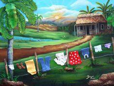 Mi Casita . Oil painting on canvas 16x24  .100% от thebestart1122