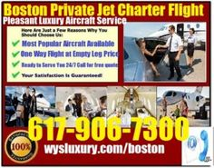 For the average traveler, flying is more about economy class than luxurious chartered jets. Things like a private jet charter flight service in Boston are exclusively reserved for the rich and famo…