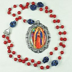 Rosary Pearl Necklace By Virgins Saints Amp Angels This