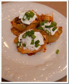 taco stuffed shells.