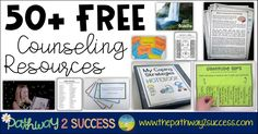 Use this list of free counseling and social emotional learning resources to help you work with kids and young adults. As a special educator for 10 years, I can say without a doubt that we need more counseling and social emotional learning supports for kids and young adults. Some of my best days in t