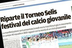 Correte in edicola!!!  Oggi sul quotidiano @lanuovasardegna si parla di noi! Anzi di voi! #Torneomanlioselis #LeCoqSportifCup #SeliStars  @visit.sardinia (In serata l'articolo completo)