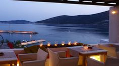 Niriedes Hotel in Sifnos. Our Sifnos hotel is built amphitheatrically in Platys Gialos, on the step rocks over the sea. It proposes 3 types of suites. Island Villa, Hotel Suites, Ocean Life, Greek Islands, Greece, Earth, World, Building, Water