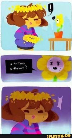 Flowey Undertale, Undertale Comic Funny, Undertale Memes, Undertale Ships, Undertale Fanart, Frisk, Chara, Flowey The Flower, Sans Papyrus