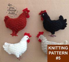 Original Tree Change Dolls® Knitting Pattern 5 by TreeChangeDolls