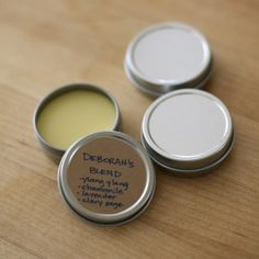 Step by step instructions on creating all natural solid perfumes with essential oils.