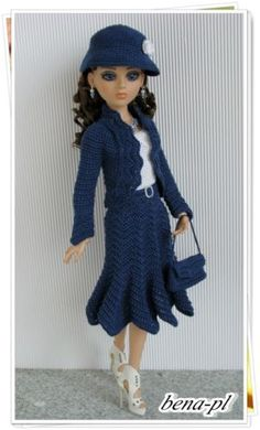 OOAK Outfit for Ellowyne, by bena-pl via eBay SOLD 7/10/14 (ships from Poland) $82.00