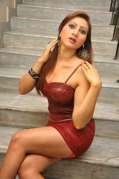 Actress Rishika Hot Photos in Leather Short Dress at Naakaithe Nachindi Audio Launch Function CelebsNext 0059
